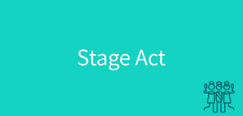 stage act
